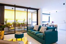 Appartement à Tel Aviv - Jaffa - Bright, Colorful Apt, 50m from Beach!