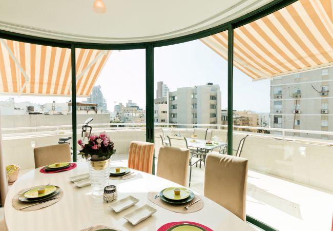 Apartamento em Tel Aviv - Jaffa - Penthouse incrível, vista para o mar, praia a 50m
