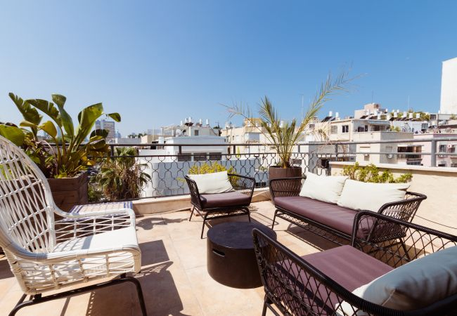 in Tel Aviv - Jaffa - Amazing 2 Floor Penthouse + 2 Terraces!